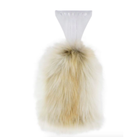Arctic Fox Faux Fur Ice Scraper