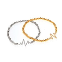 Heart Beat Bracelet - GOLD
