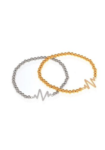 Heart Beat Bracelet - GOLD