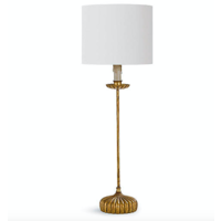Clove Stem Buffet Table Lamp - Natural
