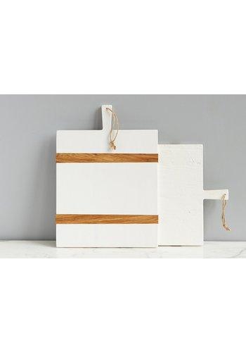 White Rectangle Charcuterie Board