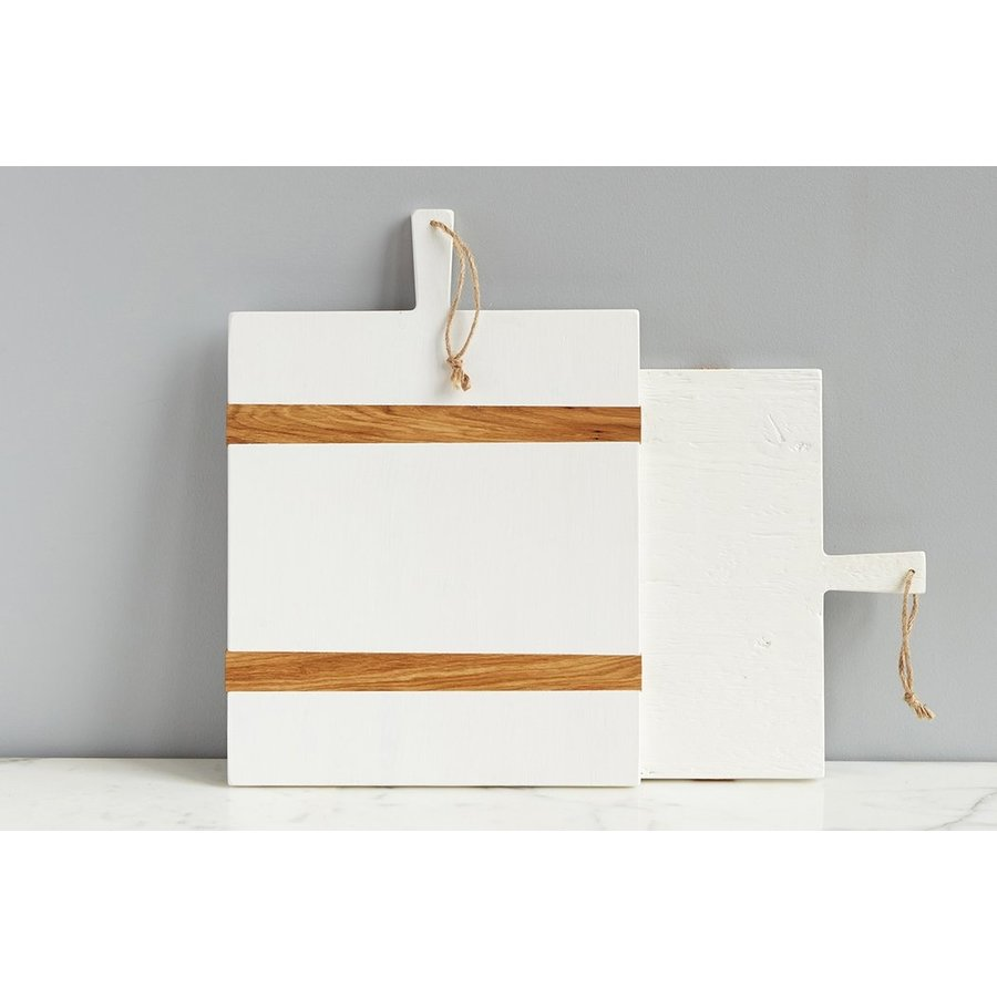 White Rectangle Charcuterie Board