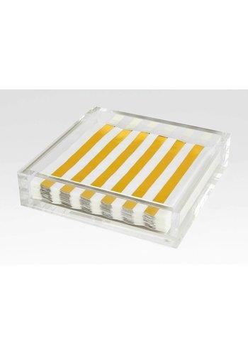 TIZO DESIGN Lucite Lunch Napkin Tray