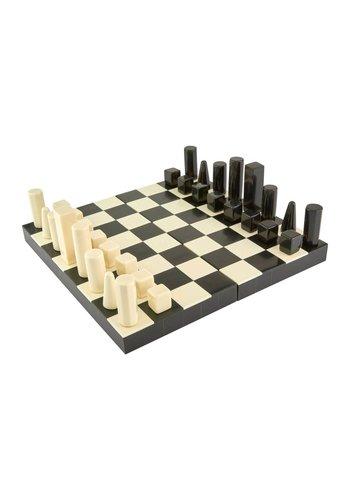 TIZO DESIGN Horn Kingdom Bone Chess Set