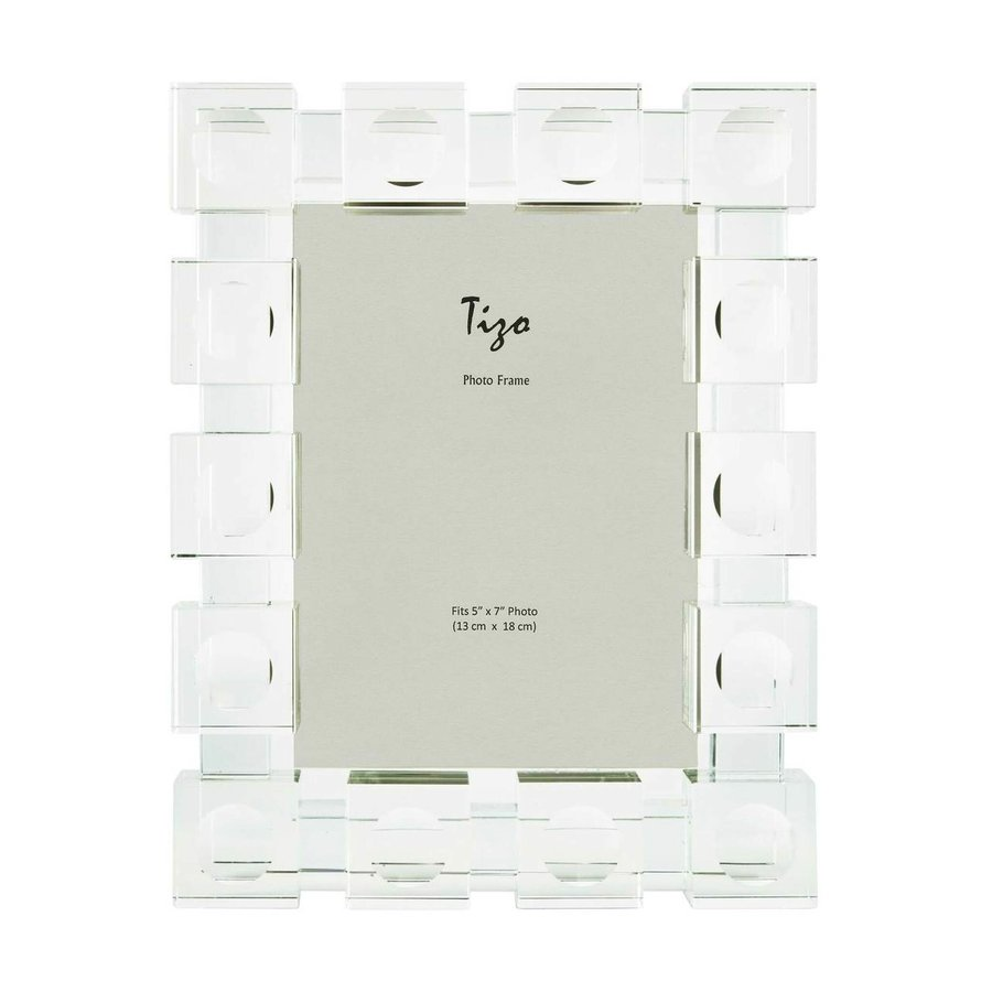 Cube 4 x 6 Inch Glass Picture Frame