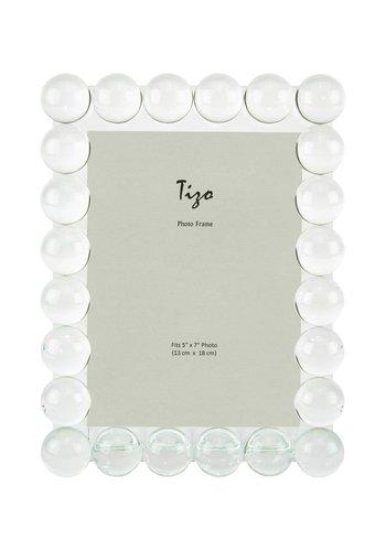TIZO DESIGN Single Bubble 5 x 7 Inch Glass Picture Frame