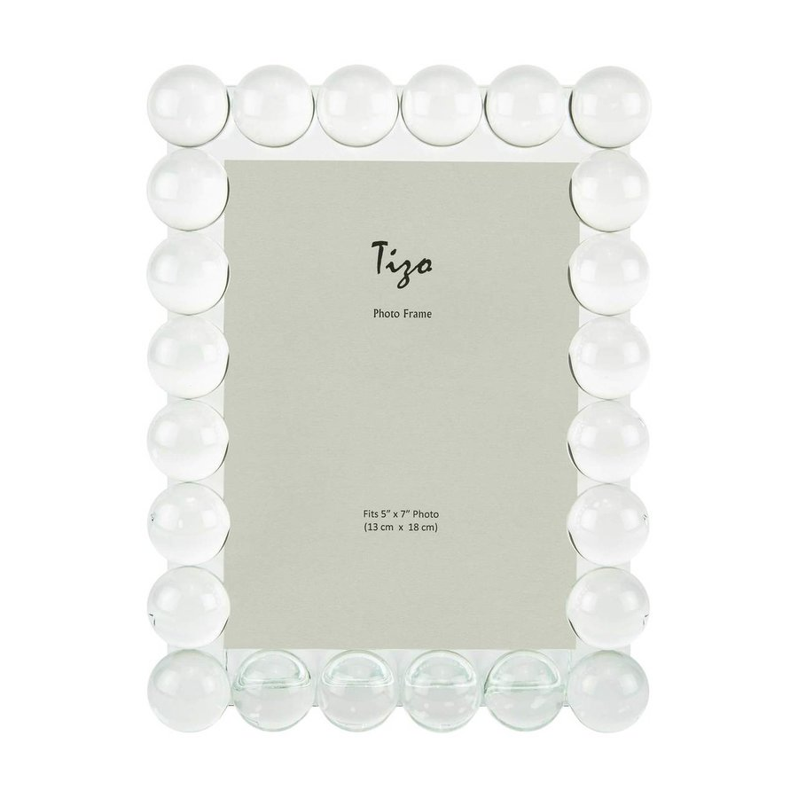 Single Bubble 5 x 7 Inch Glass Picture Frame