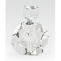 Crystal Glass Perfume Bottle Diamond Cut