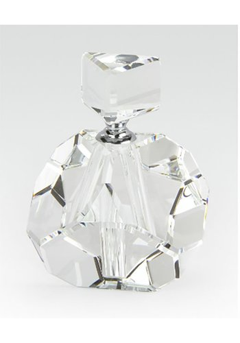 TIZO DESIGN Crystal Glass Perfume Bottle Diamond Cut