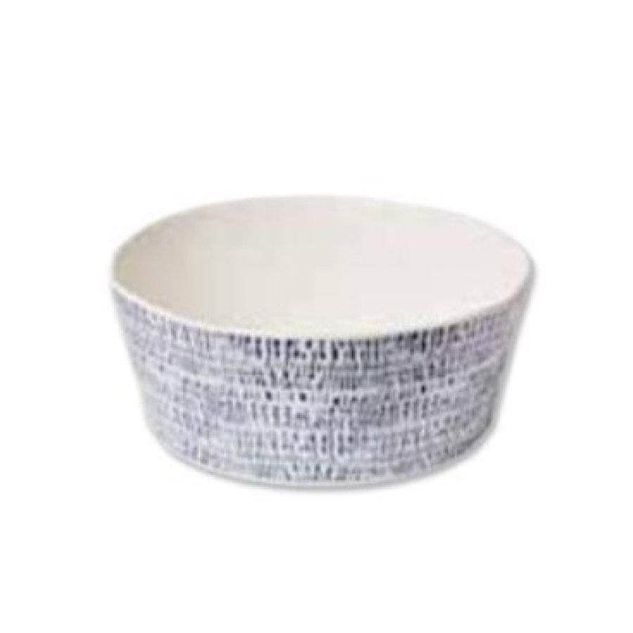 Tribal Blue Soup Bowl