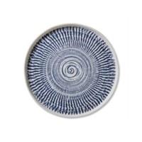 Tribal Blue Dinner Plate