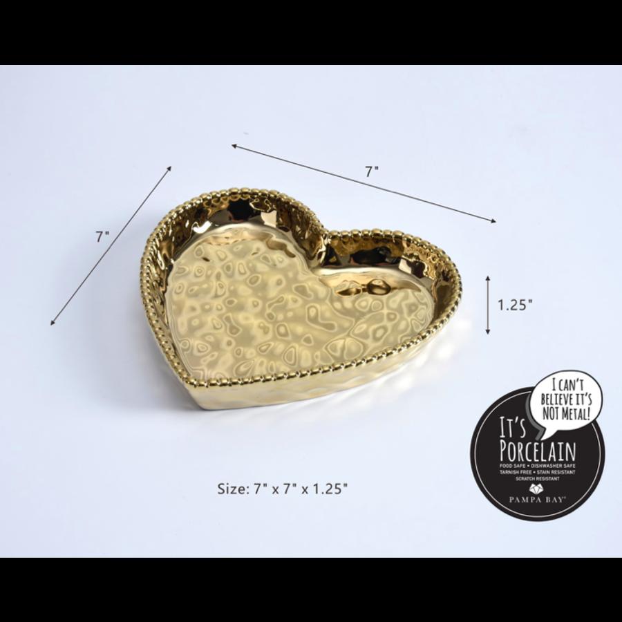 Medium Heart Dish
