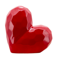 """8"""" Red Heart Table Deco"""