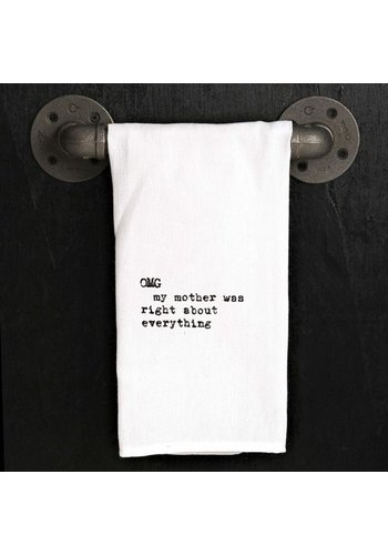 SECOND NATURE BY HAND Kitchen Towel - OMG My Mother
