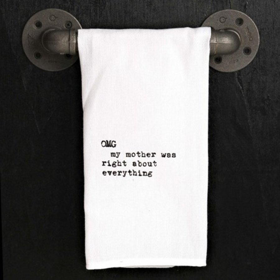 Kitchen Towel - OMG My Mother