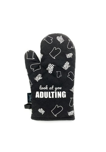 TWISTED WARES LOOK AT YOU OVEN MITT