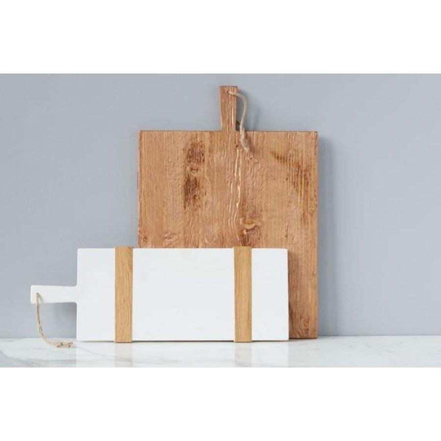 White Rectangle Mod Charcuterie Board