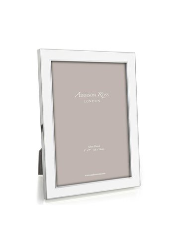 """ADDISON ROSS 8x10"""" White Enamel Frame"""