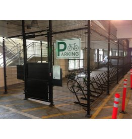 Long-term secure bike parking permit