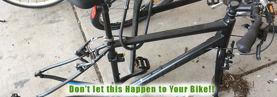 Bike Locking Do's & Don'ts