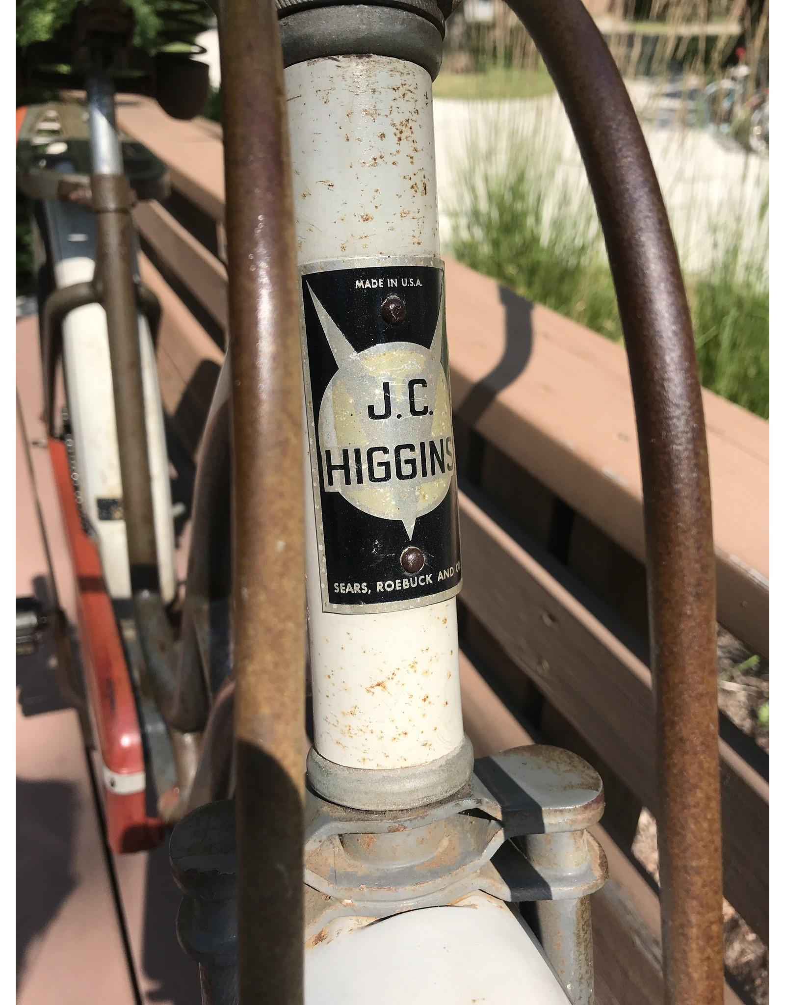 JC Higgins Special Deluxe 50's cruiser, Grey, 18in,
