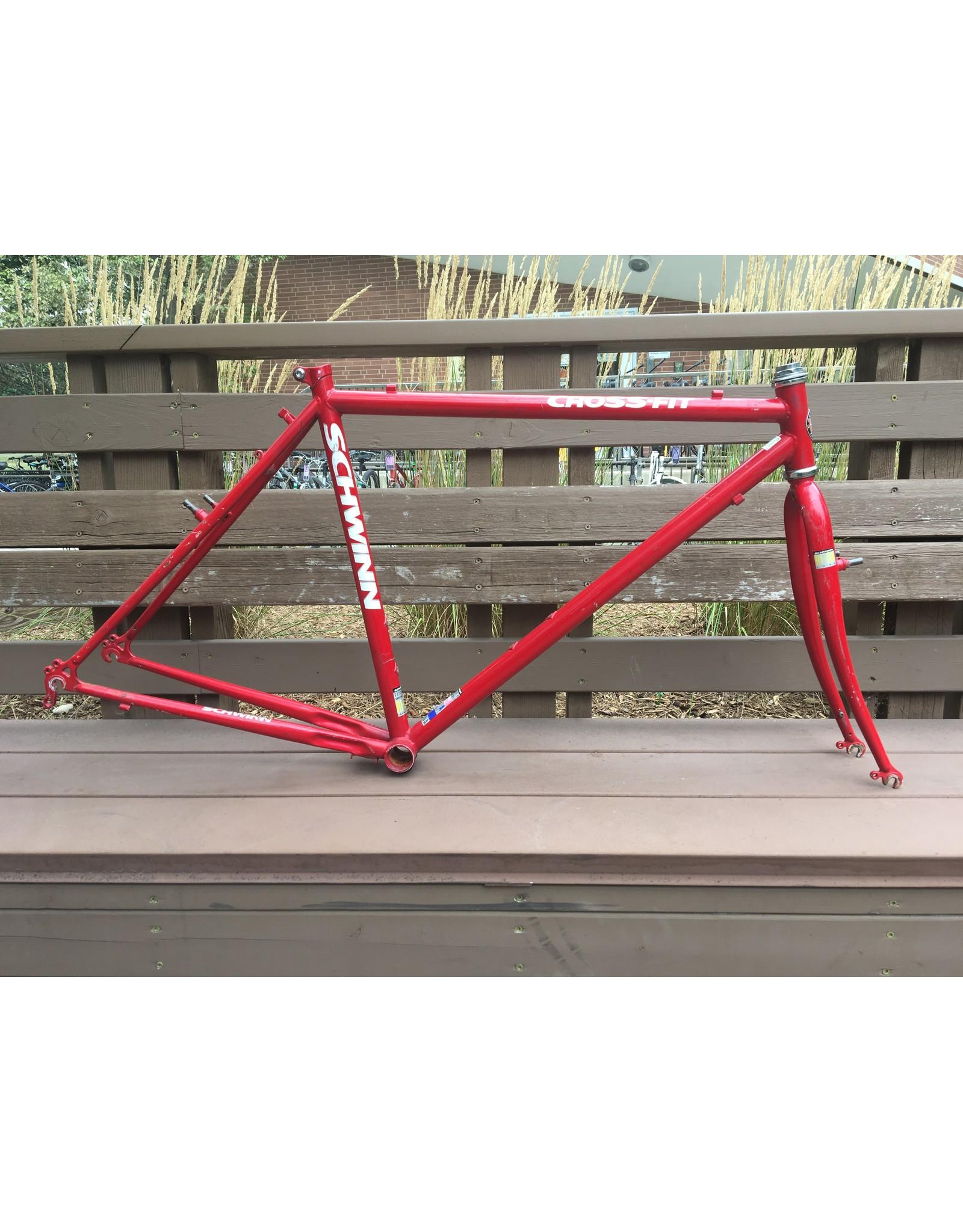 Schwinn Cross-Fit frame set, 20 in., red
