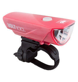 Front Light Volt 100 Pink, CATEYE