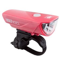 Front Light Volt 100 Pink, CATEYE