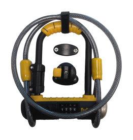 Lock Bulldog MINI w/ Cable COMBO (3.5x2.1), OnGuard-8015c