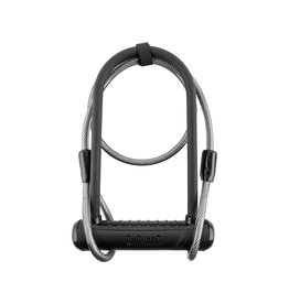 Lock Neon Standard shackle (4.5x9/10) w/ Cable, OnGuard-8154