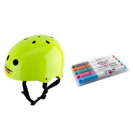 Helmet Youth Neon Green MD, Triple Eight