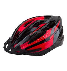 Helmet V19-sport S/M black/red, Aerius