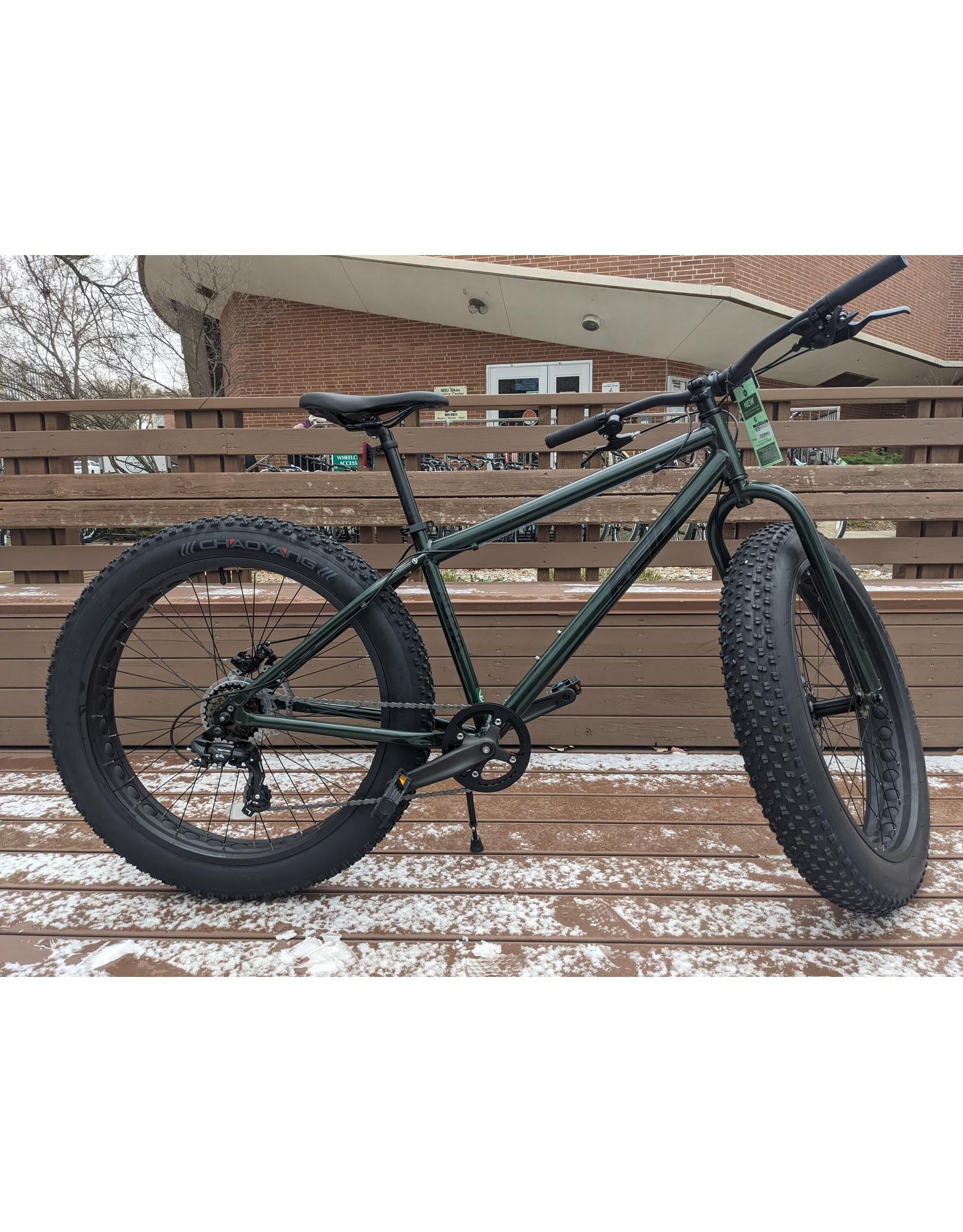 "Reid Fat Bike (26""x4.0)  Alpha Army Green 17in"
