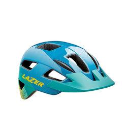 Helmet Blue w/ Yellow Unisize Kids (50-56 cm) Gekko Lazer