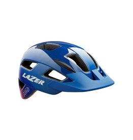 Helmet Blue w/ Pink Unisize Kids (50-56 cm) Gekko Lazer