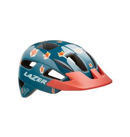 Helmet Blue w/ Foxes Unisize Toddler (46-50 cm) Lil Gekko Lazer