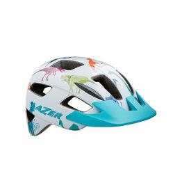 Helmet White w/ Dino Unisize Toddler (46-50 cm) Lil Gekko Lazer