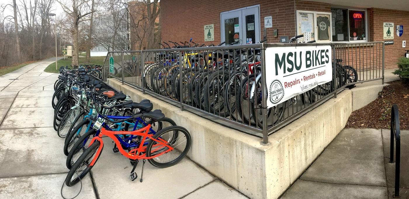 MSU Bikes exterior pic