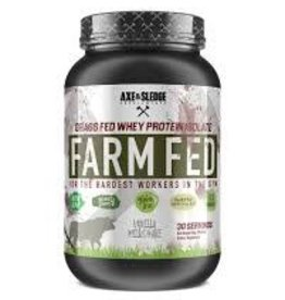 Axe & Sledge FarmFed Isolate