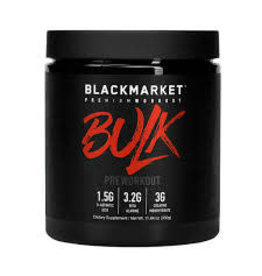 Black Market Bulk Pre-Workout