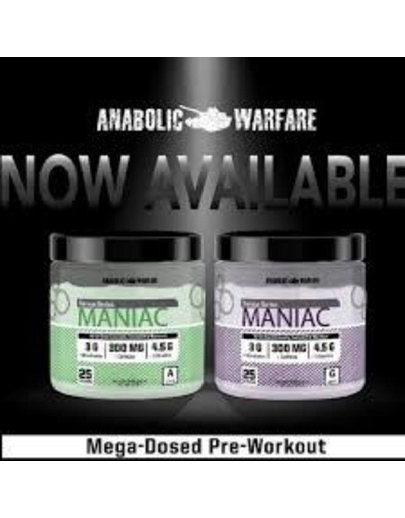 Anabolic Warfare Maniac Pre-Workout