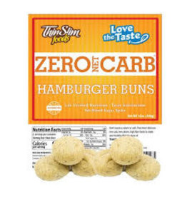 ThinSlim Foods 0 Carb Hamburger Buns