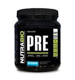 NUTRABIO PRE Workout V5 - (Blue Raspberry)