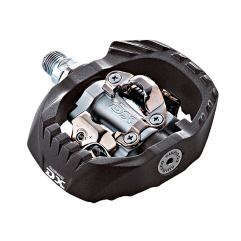 Shimano Pedal DX M647 Clipless with Composite Ca