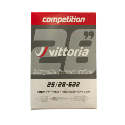 Vittoria Tube Competition LATEX 700x25/28  48mm