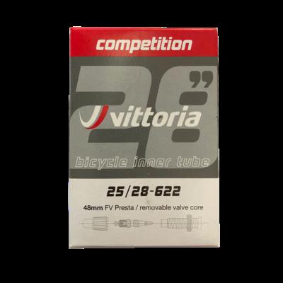 Vittoria Tube 700x19/23 Competition Presta 48mm RCV