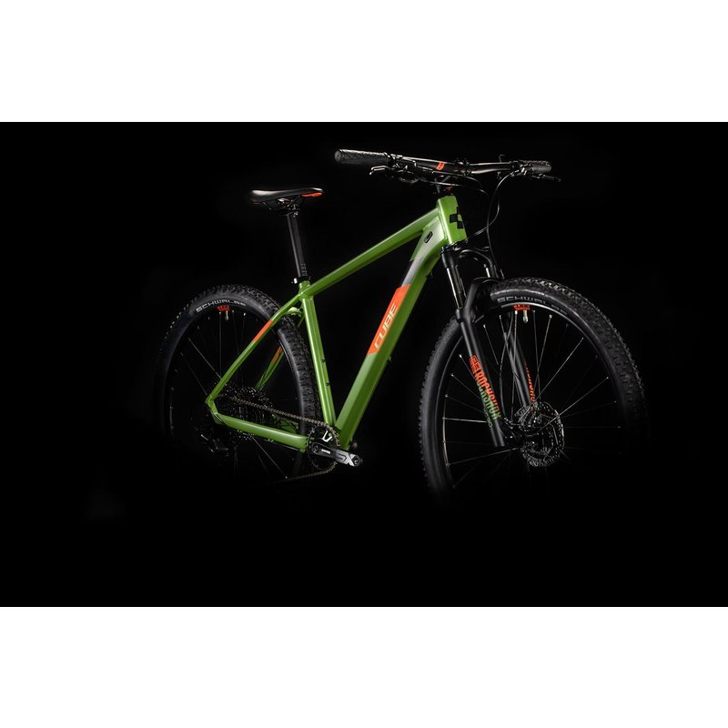 Cube 2020 Cube Analogue Green n Orange 21""