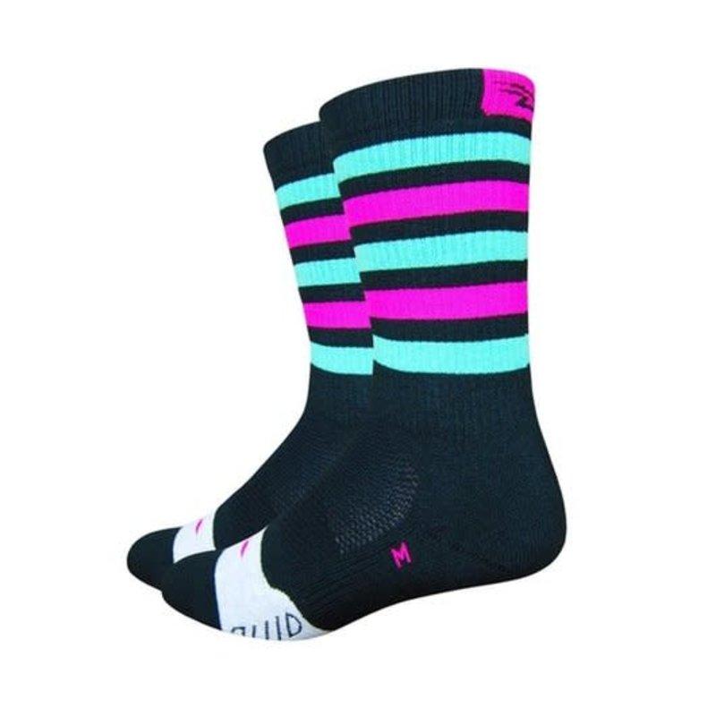 DeFeet DeFeet Thermeator Green/Pink Stripe