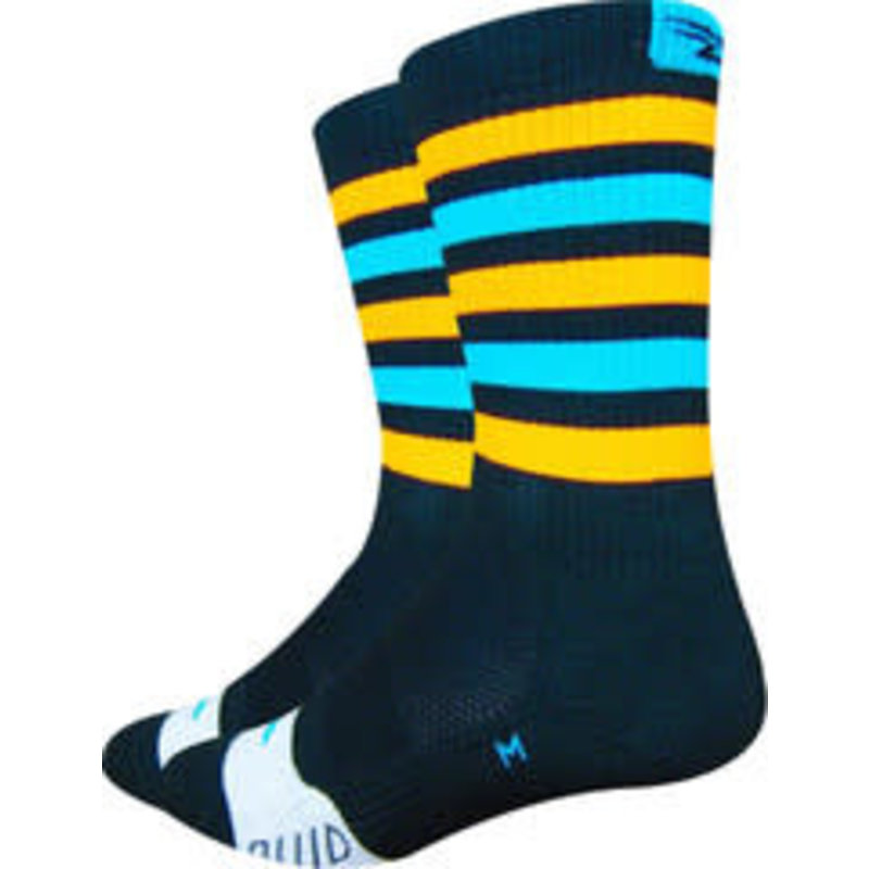 DeFeet DeFeet Thermeator Blue/Orange Stripe