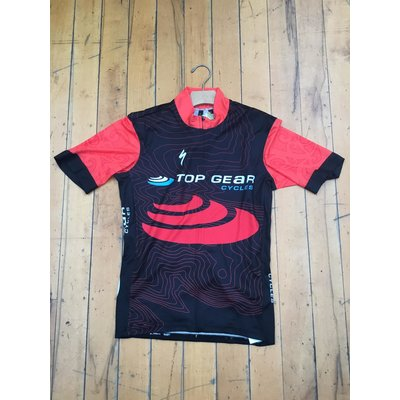 Specialized Ride Jersey SS Full Custom Red/Blk/Blu